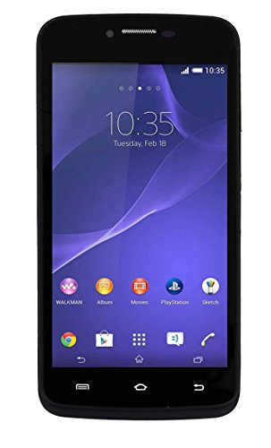 "M-Horse Model Teeno 4.5"" Quad Core High Performance 3G Dual SIM Smart Phone-Black Colour"