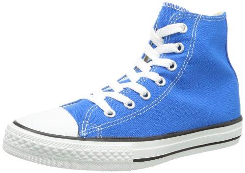 Converse Chuck Taylor All Star Season Hi,Unisex - Kinder Sneaker Blau (ELECTRIC BLAU LEMONADE)