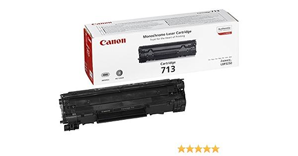 Canon Toner Cartridge 713 Schwarz Standard Bürobedarf Schreibwaren