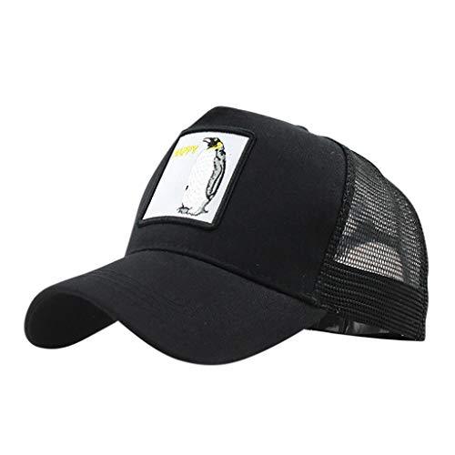 Imagen de ❤rytejfes  beisbol de causal pescador sombrero sombrero de sol visera plegable camuflaje bordado de animales upf 50+ ajustable malla transpirable anti uv para aire libre viaje selva exterior