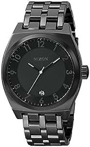 Nixon Monopoly Watch All Black, One Size