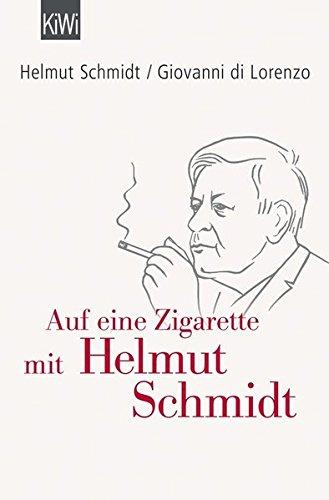 Preisvergleich Produktbild Auf eine Zigarette mit Helmut Schmidt