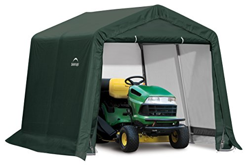 Rowlinson Shelterlogic 10x10 Peak Style Storage Shed