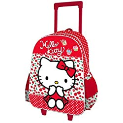 Hello Kitty - Mochila 3d trolley