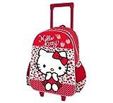 Hello Kitty Mochila 3D Trolley 40 cms Kids, Color Rosa (AS7161)