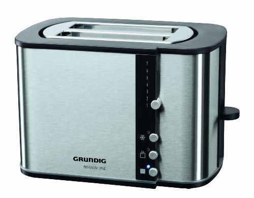 Grundig TA 5260 Premium-Toaster (870 Watt), silber