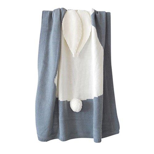 tianxun Cute Bunny Kinder Baby Soft Rabbit, Decke Betten Handtuch Cover Wirft Wrap