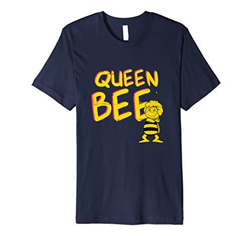 Biene Maja retro - Maja Queen - T-Shirt (Queen Bee Kostüm Kinder)