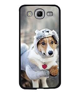 PrintVisa Dog In Warmer High Gloss Designer Back Case Cover for Samsung Galaxy Mega 5.8 I9150 :: Samsung Galaxy Mega Duos 5.8 I9152