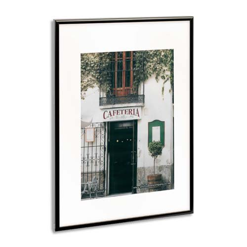 The Photo Album Company paaf5070b-Schwarz Satin Aluminium Rahmen-50x 70