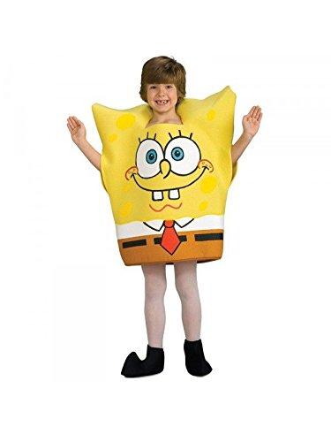 Imagen de disfraz bob esponja infantil  único, 5 a 7 años