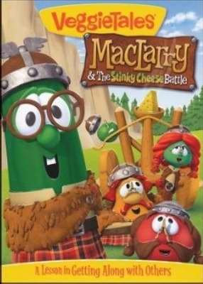 DVD - Veggie Tales: MacLarry And The Stinky Cheese Battle (Bargain Bin)