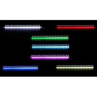 ALL Ride! LED-Innenleuchte für PKW und LKW, Flache Bauweise, 24 SMD-LEDs, 7 Farben, geschaltet, Lichtleiste Länge 50 cm, 12-24V
