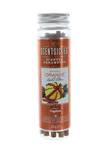 Scentsicles Spiced Orange Duft Sticks, braun, 6