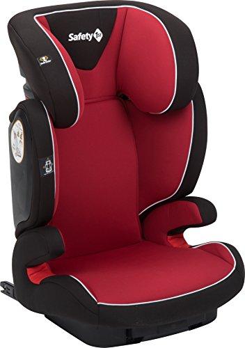 Safety 1st Road Fix, Kindersitz Gruppe 2/3 (15-36 kg), praktischer Autositz mit IsoFix ab 3 bis 12 Jahre, full red (rot)
