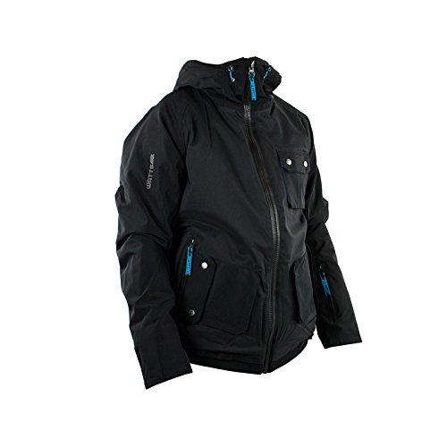 Skijacke Herren WATT Scoty schwarz und blau - XXL