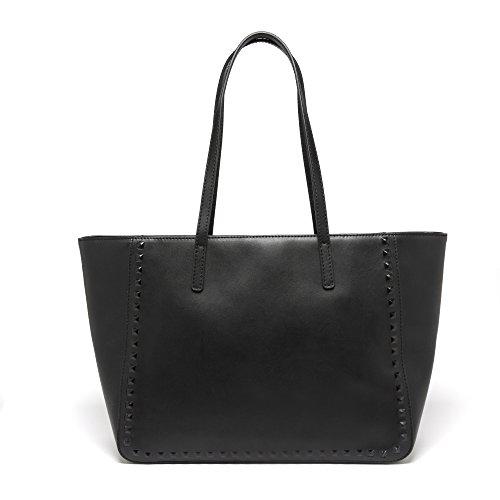 JESSIE & JANE, Borsa tote donna, Black (nero) - JJ-1477 Black
