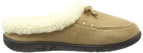 Padders Snug, Chaussons Mules Femme Beige (22 Taupe/Camel)