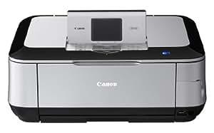 Canon Pixma MP640 Imprimante Multifonction jet d'encre Ecran TFT Tout en un WiFi USB Noir / Argent