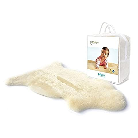 Bowron Infant Care Durable Soft Lambskin Shortwool Baby Comforter