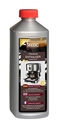 Beem Premium Entkalkerkonzentrat Entkalker (Für alle Kaffeemaschinen geeignet, auch Kapseln)...