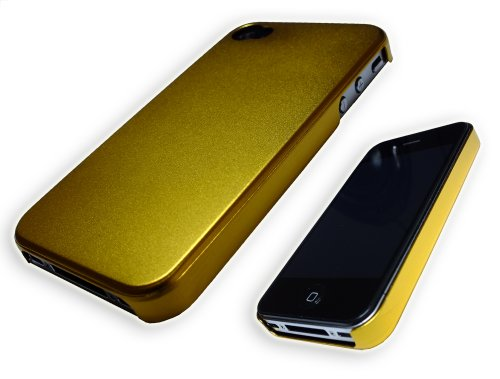 Xcessor Force Field métallique Coque rigide pour Apple iPhone 4/4S – Parent, doré, 4s doré