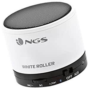NGS White Roller Enceintes PC / Stations MP3
