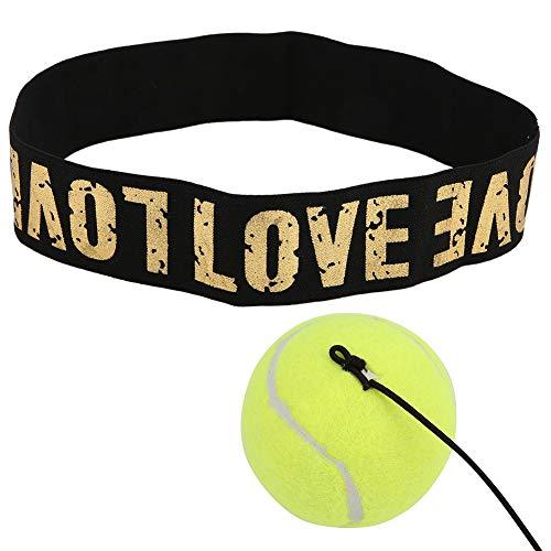 Alomejor Boxen Kampf Ball Reflex Boxen Kampf Ball Arm Strength Balance Übungsball mit Kopfband für Traning Boxen Stressabbau
