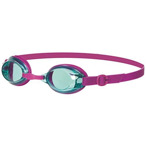 Speedo Jet V2 JU - Gafas de natación para niños, morado, 6-14 años