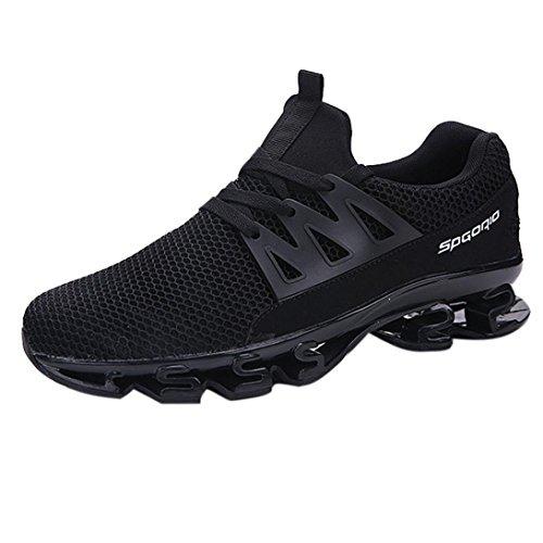 Baskets FantaisieZ Chaussures de Sport en Plein Air de Mode Sneaker Occasionnel de Marche des Hommes Mettent des Chaussures de Course de Maille Chaussures Respirant pour Hommes