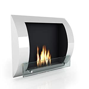 Imagin Bio ethanol Fireplace - Fuego White