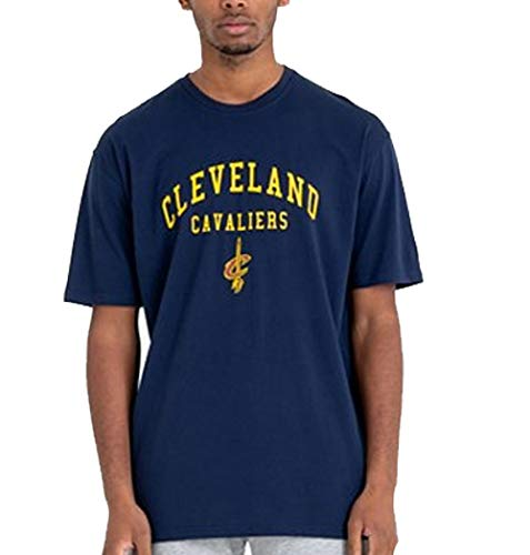 New Era NBA Cleveland Cavaliers Classic Arch T-Shirt, Navy, L