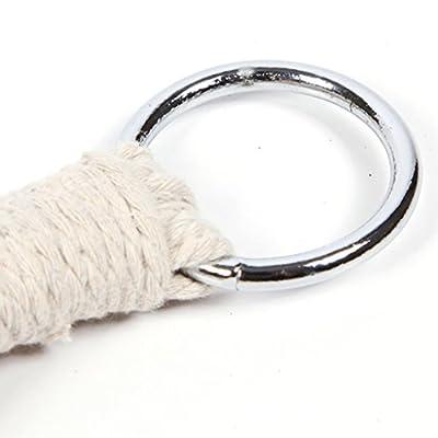 MMM& Outdoor Baumwollfaden Hängematte Stöcke Mesh Plus Baumwolle Hängematte Swing 180 * 80cm von ohshop auf Gartenmöbel von Du und Dein Garten