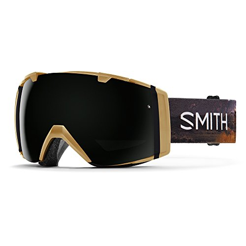 Smith Optics I/O Goggle, Unisex, I/O, Prairie Buffalo/Blackout, Taglia unica