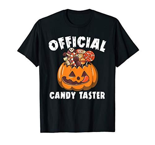 Offizielle Damen Kostüm - Offizielle Candy Taster Halloween Lustige Kostüm Hemd