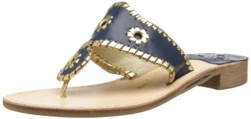 jack-rogers-nantucket-gold-sandalias-para-mujer-color-azul-talla-37