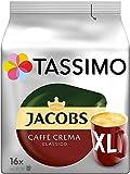 Tassimo Jacobs Caffè Crema Classica XL, Capsule di Caffè - 5 Confezioni (80 Porzioni)
