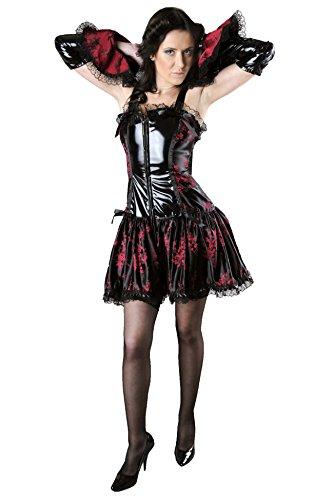 Phaze - Robe - Femme Multicolore - Noir/rouge