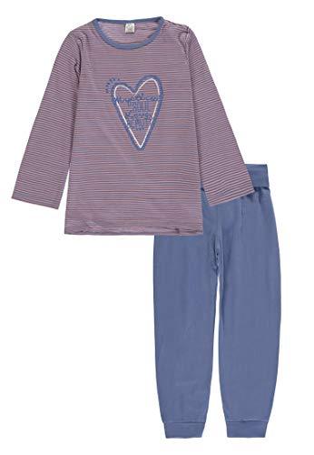 Kanz Schlafanzug Mädchen y/d Stripe,98
