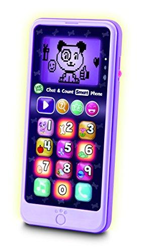 LeapFrog 603763Chat & Count Smart Phone Violet Jouet, Multi, Taille Unique