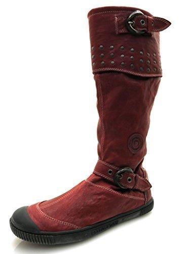 Pataugas bottes femme Rouge - Rouge