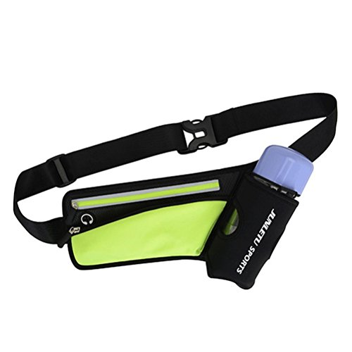 Outdoor Sports Waist Bag Fitness Multifunctional Kettle Belt Bag Personal Mobile Phone Pockets(Green)