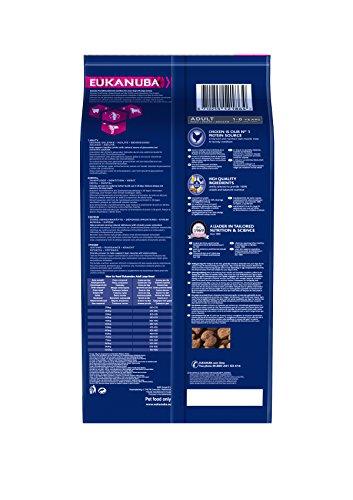 Eukanuba Adult Large Breed Trockenfutter (für erwachsene Hunde grosser Rassen, Premiumfutter mit Huhn), 3 kg Beutel - 2