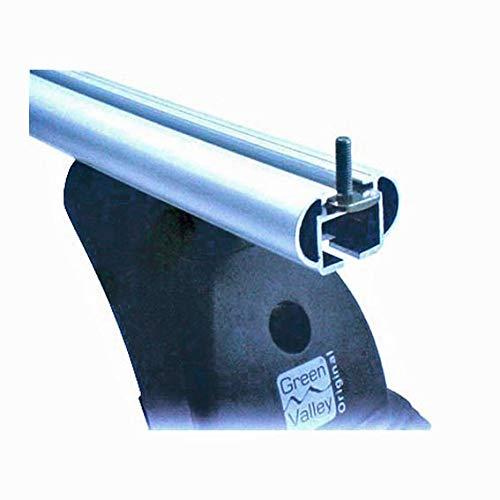 Aurilis Original 4 Nutsteine für Dachträger, TREK + andere Träger 25 mm Gewindelänge