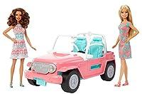 Mattel Barbie FPR59 - Bambole e VeicoloPlayset composto due 2 Barbie e la Gip. Le due amiche possono vivere fantastiche avventure a bordo della loro auto.Adatto per età: +3 anni