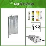 Beleuchtungsset Grow Cultilite 250 W Wuchs 400 W Blüte NDL Hammerschlag EVSG