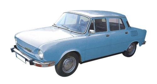 Herpa 066570Skoda 110L, vehículos, Azul Verdoso