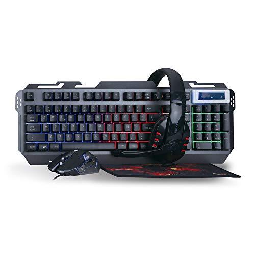 Woxter Stinger FX 80 Megakit - Kit de accesorios gaming con teclado...