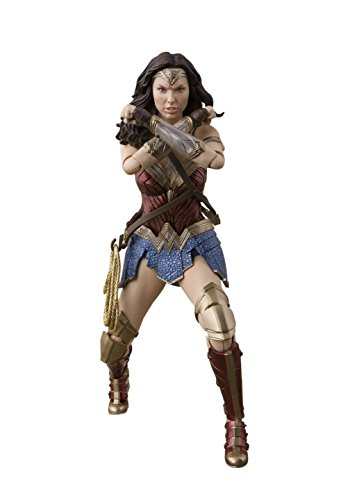 Bandai Justice League 57552 SH Figuarts – Wonder Woman, 15 cm, 19781