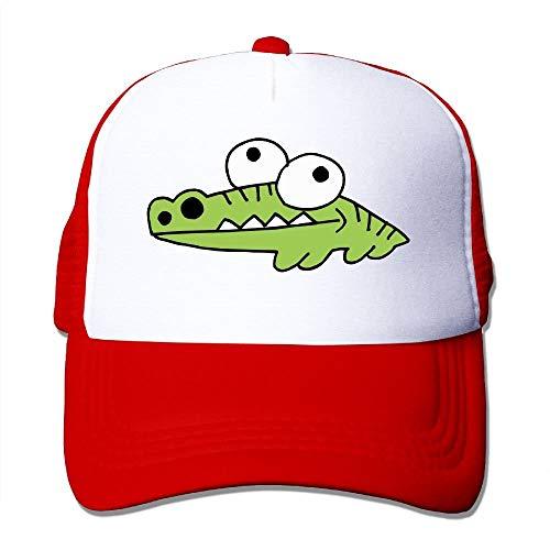 Preisvergleich Produktbild Alligator Crocodile Gator Trucker Hat Unisex Adult Baseball Mesh Cap Black